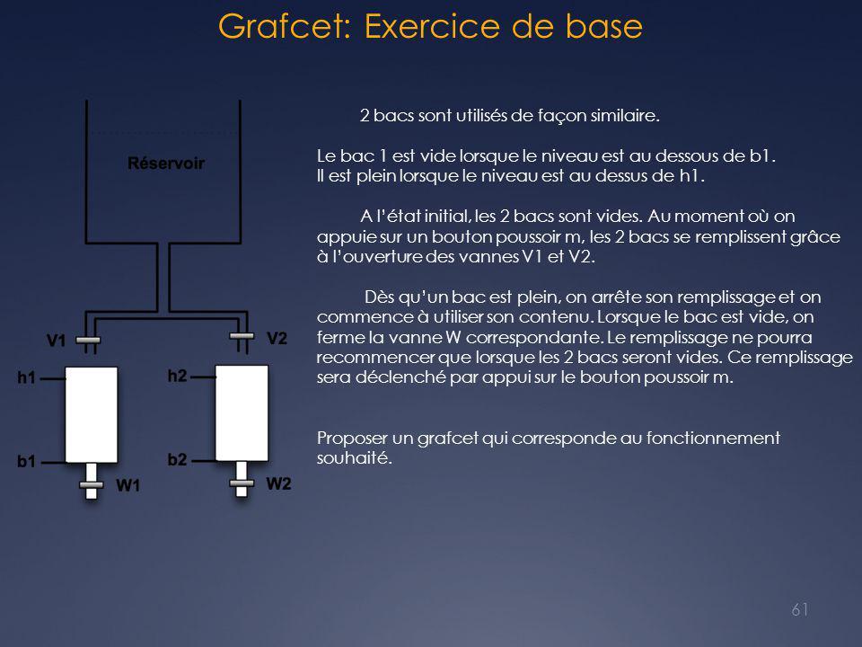 Grafcet: Exercice de base