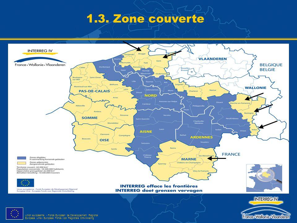 1.3. Zone couverte ED.