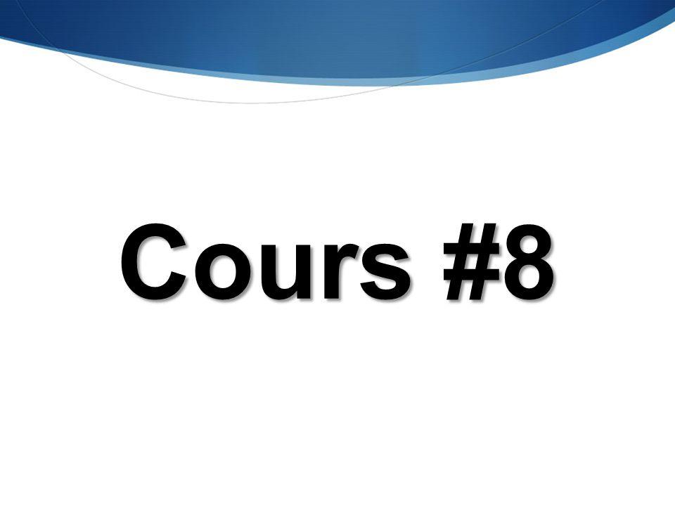 GPA435 S.E. et P.S. Cours #8 Présentation préaprée par T. Wong, ing., Ph.D.