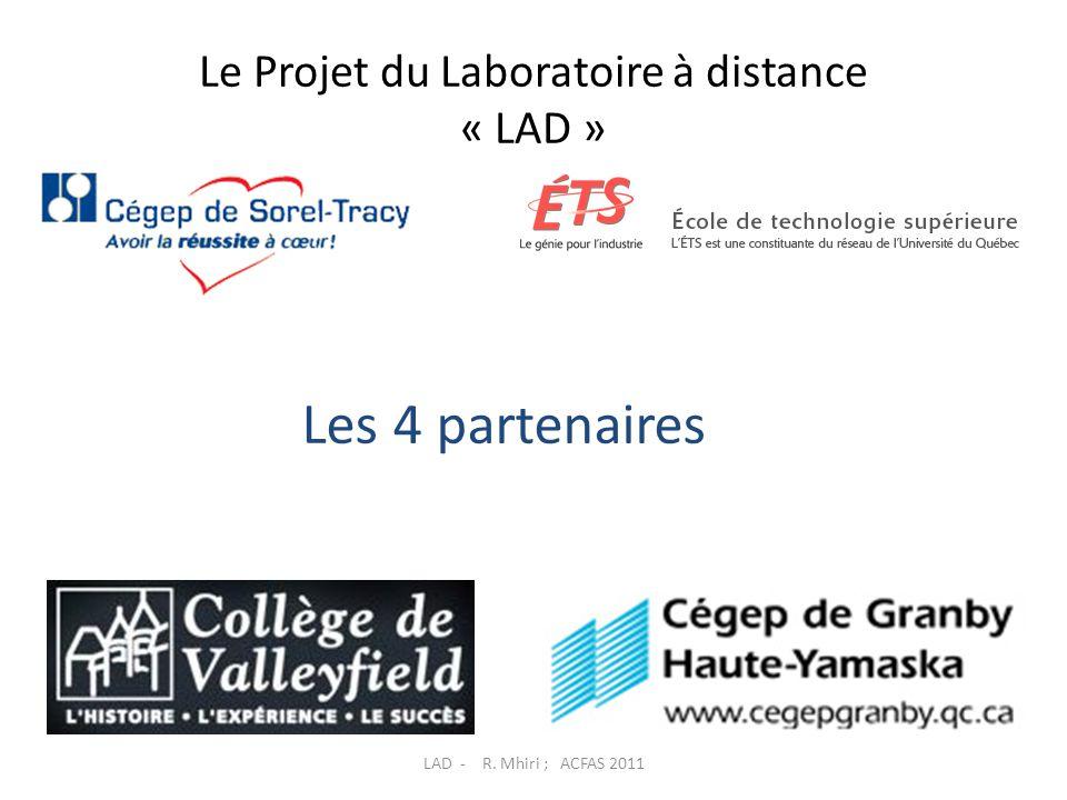 Le Projet du Laboratoire à distance « LAD »