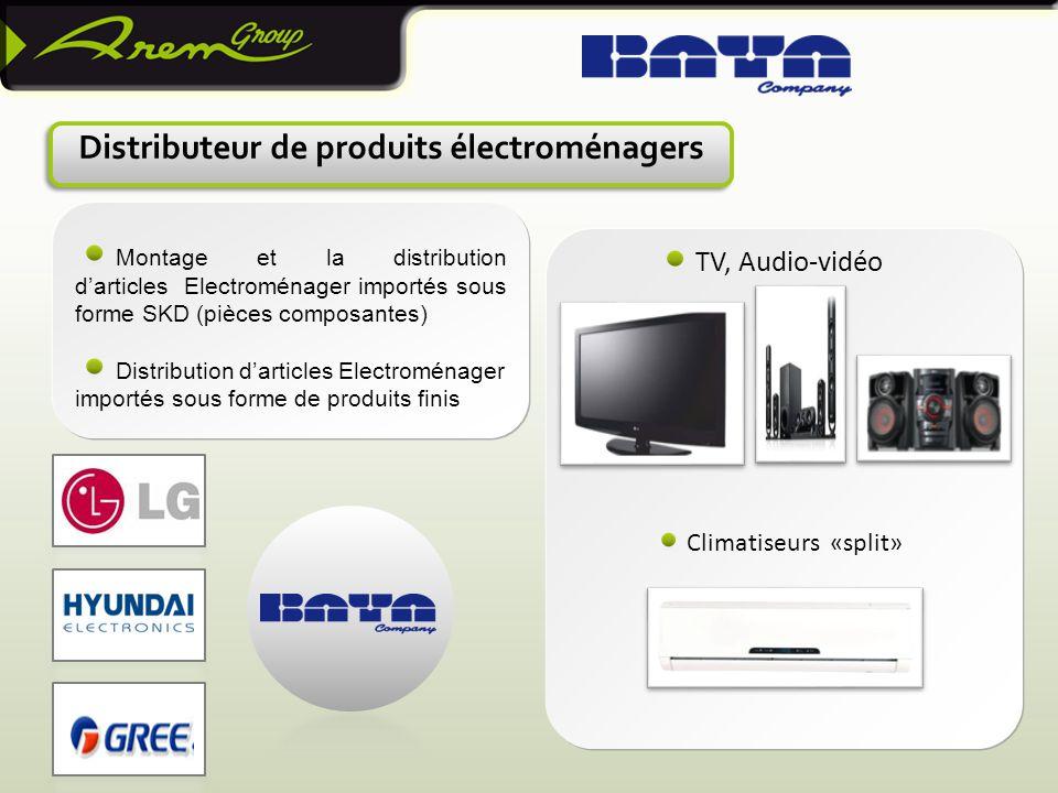Distributeur de produits électroménagers