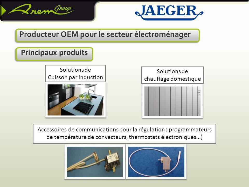 Producteur OEM pour le secteur électroménager