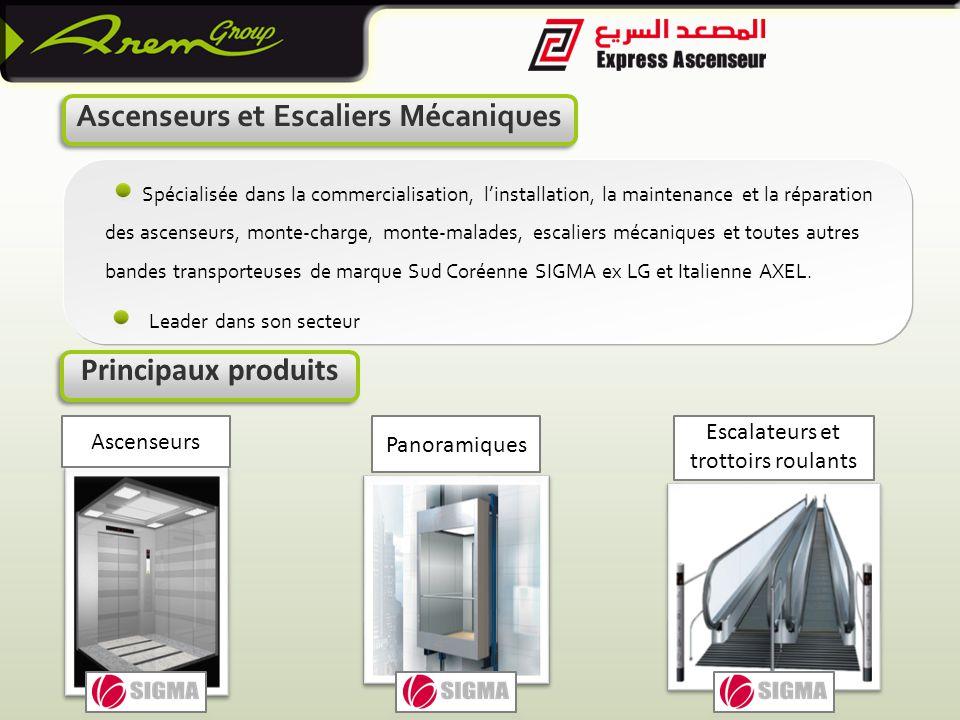 Ascenseurs et Escaliers Mécaniques