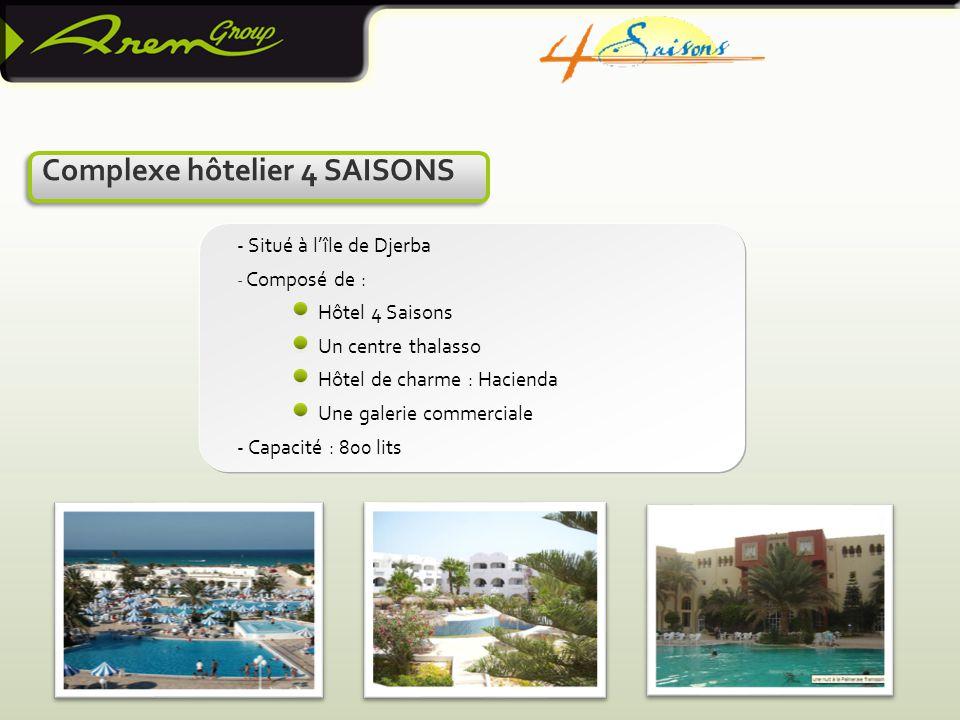 Complexe hôtelier 4 SAISONS
