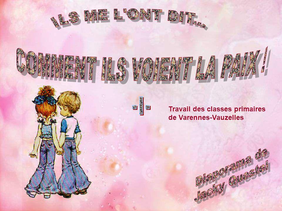 COMMENT ILS VOIENT LA PAIX !