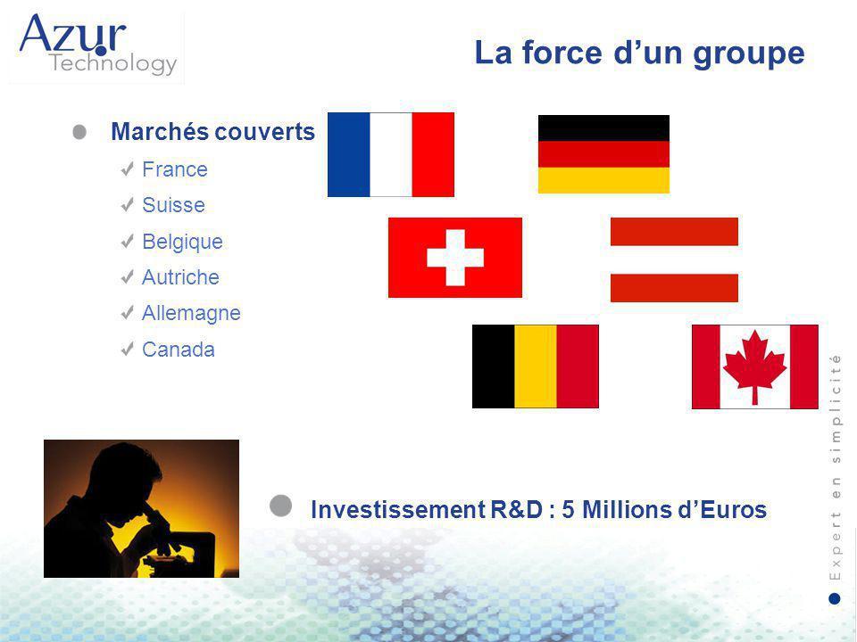 Investissement R&D : 5 Millions d'Euros