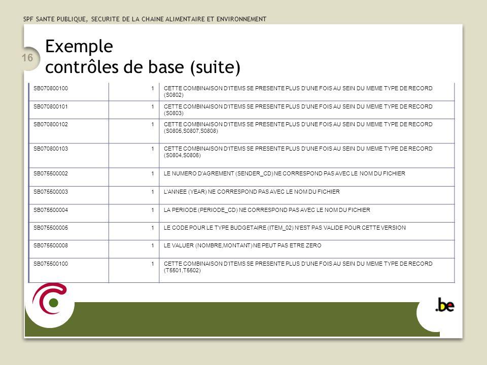 Exemple contrôles de base (suite)