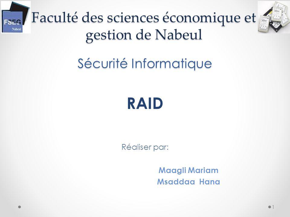 Faculté des sciences économique et gestion de Nabeul