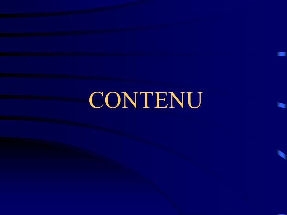 CONTENU