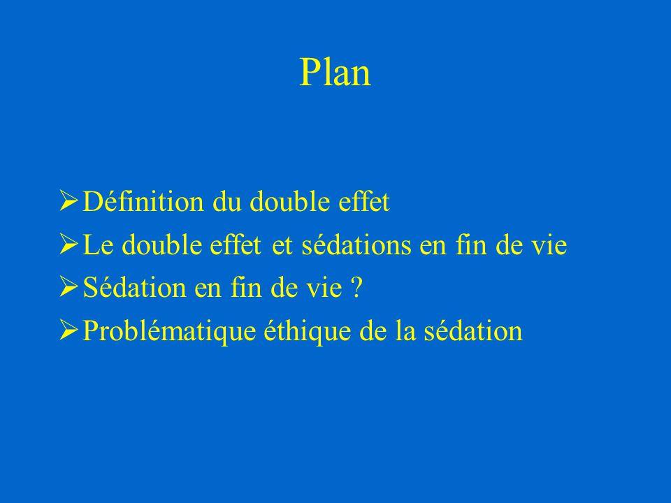 Plan Définition du double effet