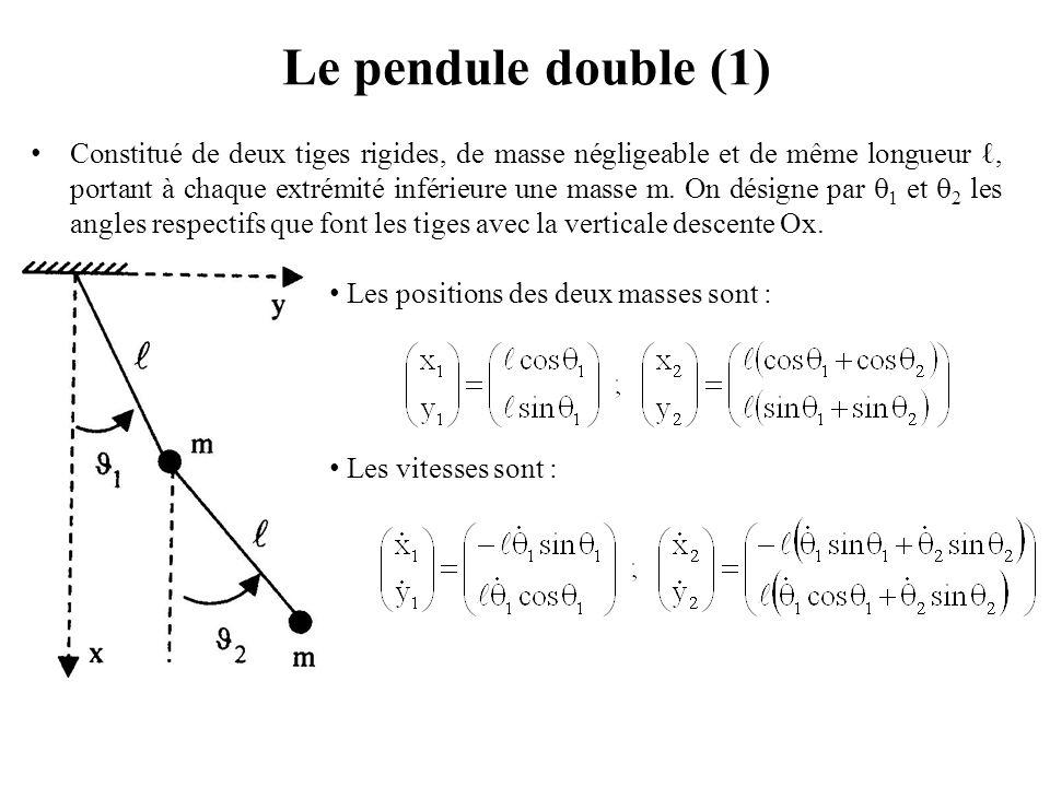 Le pendule double (1)