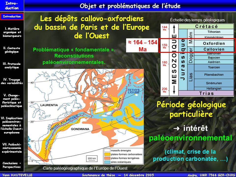 Période géologique particulière