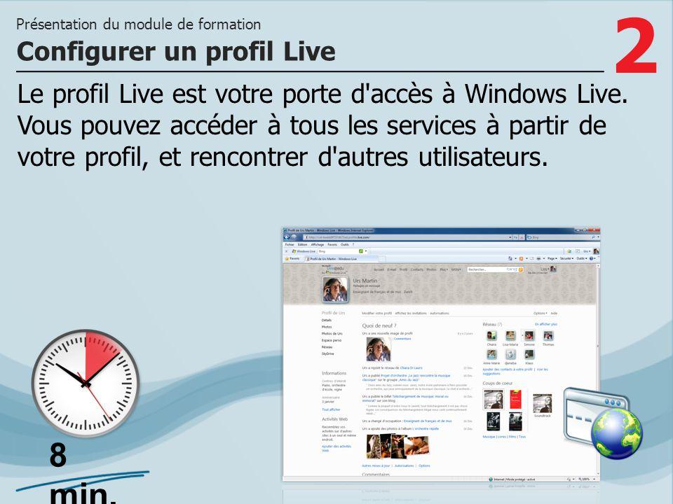 Configurer un profil Live