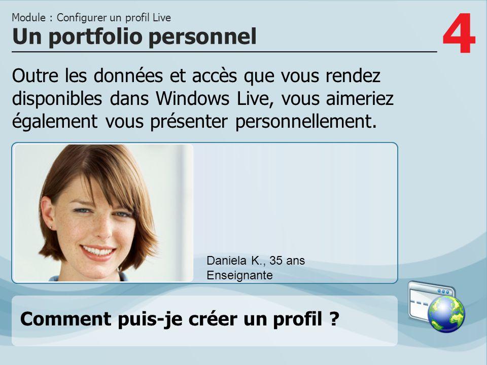 Un portfolio personnel