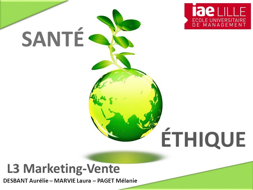 SANTÉ ÉTHIQUE L3 Marketing-Vente