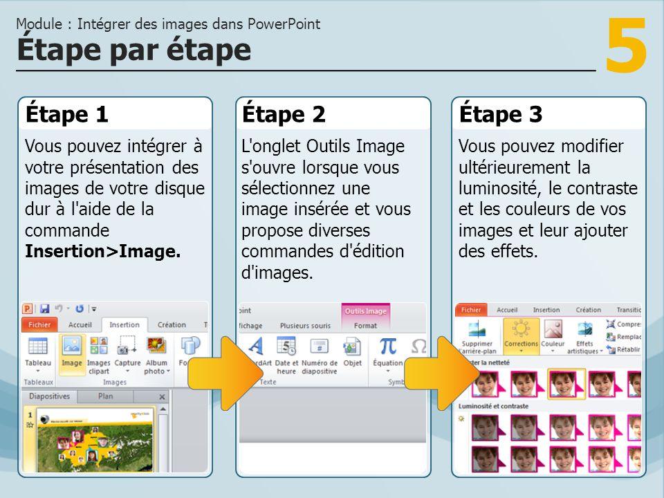 Module : Intégrer des images dans PowerPoint