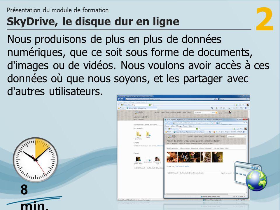 SkyDrive, le disque dur en ligne