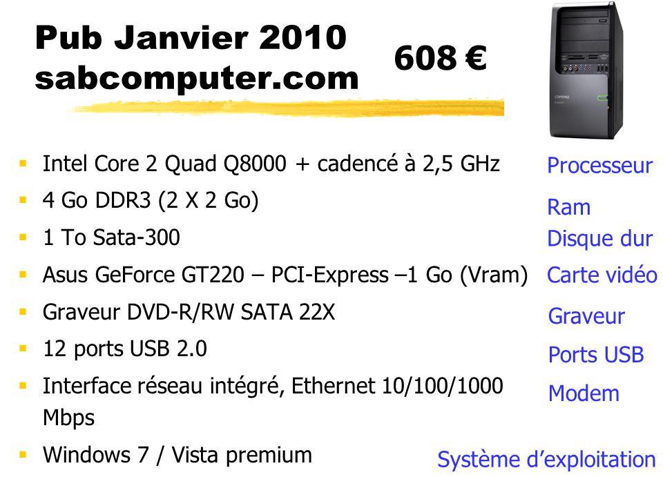 Pub Janvier 2010 sabcomputer.com