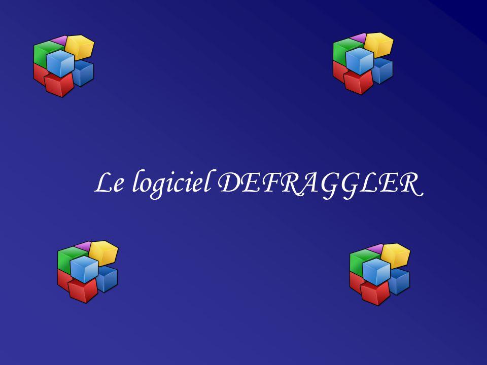 Le logiciel DEFRAGGLER