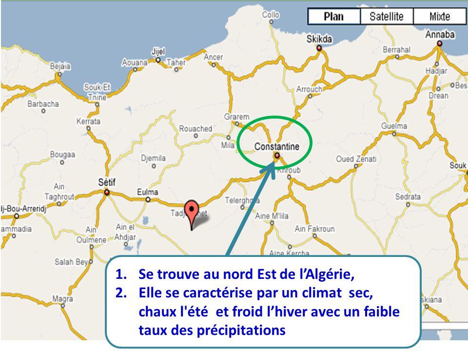 Se trouve au nord Est de l'Algérie,