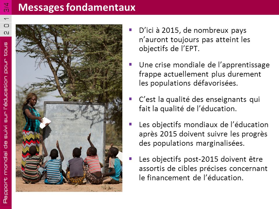 Messages fondamentaux