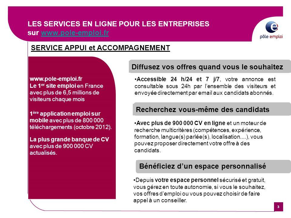 les services entreprises de p u00d4le emploi