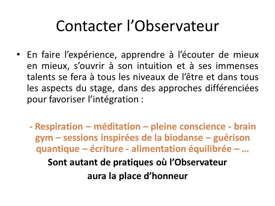 Contacter l'Observateur