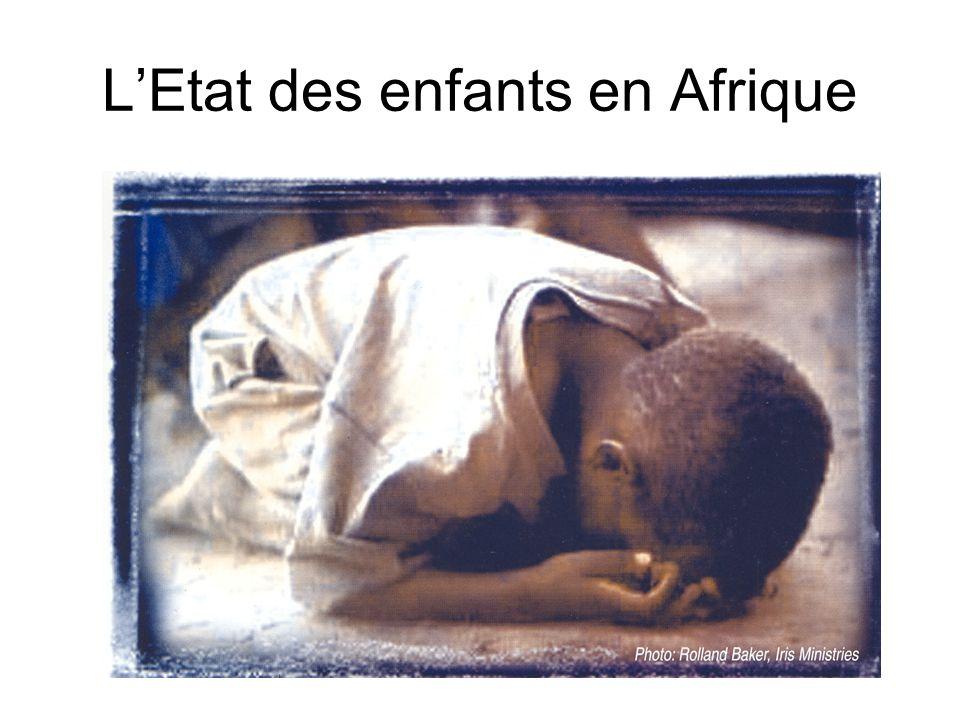 L'Etat des enfants en Afrique