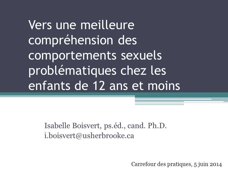 Isabelle Boisvert, ps.éd., cand. Ph.D. i.boisvert@usherbrooke.ca