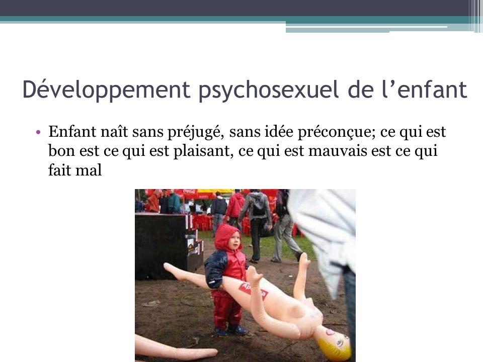 Développement psychosexuel de l'enfant