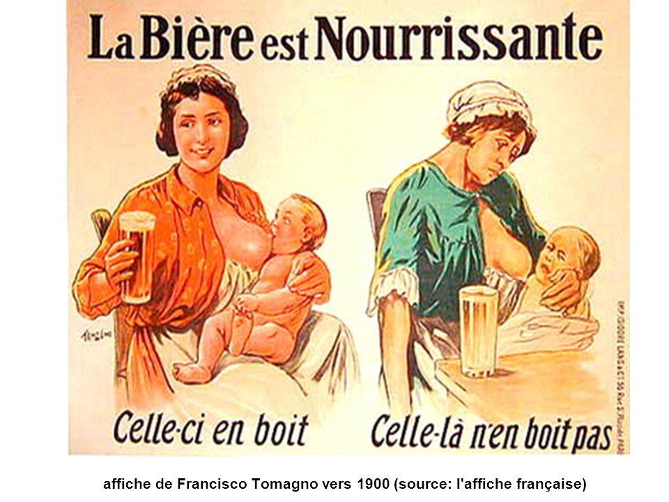 affiche de Francisco Tomagno vers 1900 (source: l affiche française)