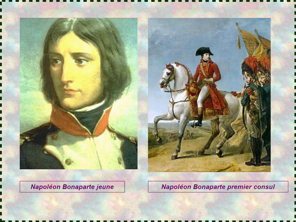 Napoléon Bonaparte jeune Napoléon Bonaparte premier consul