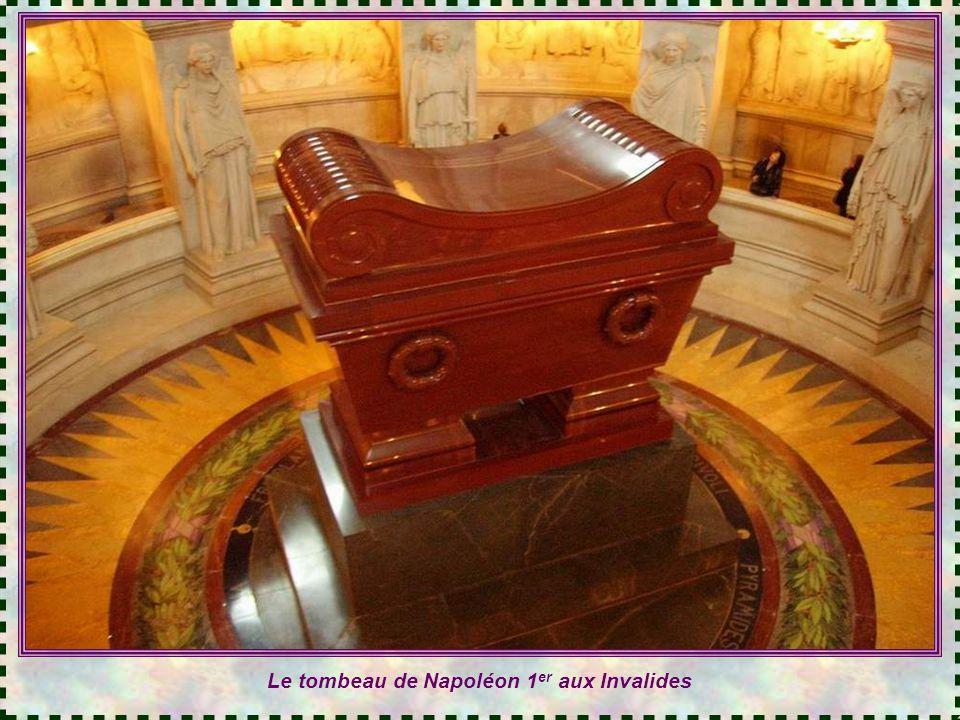 Le tombeau de Napoléon 1er aux Invalides