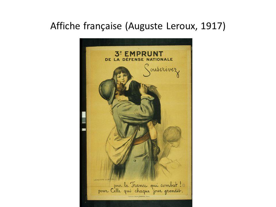Affiche française (Auguste Leroux, 1917)