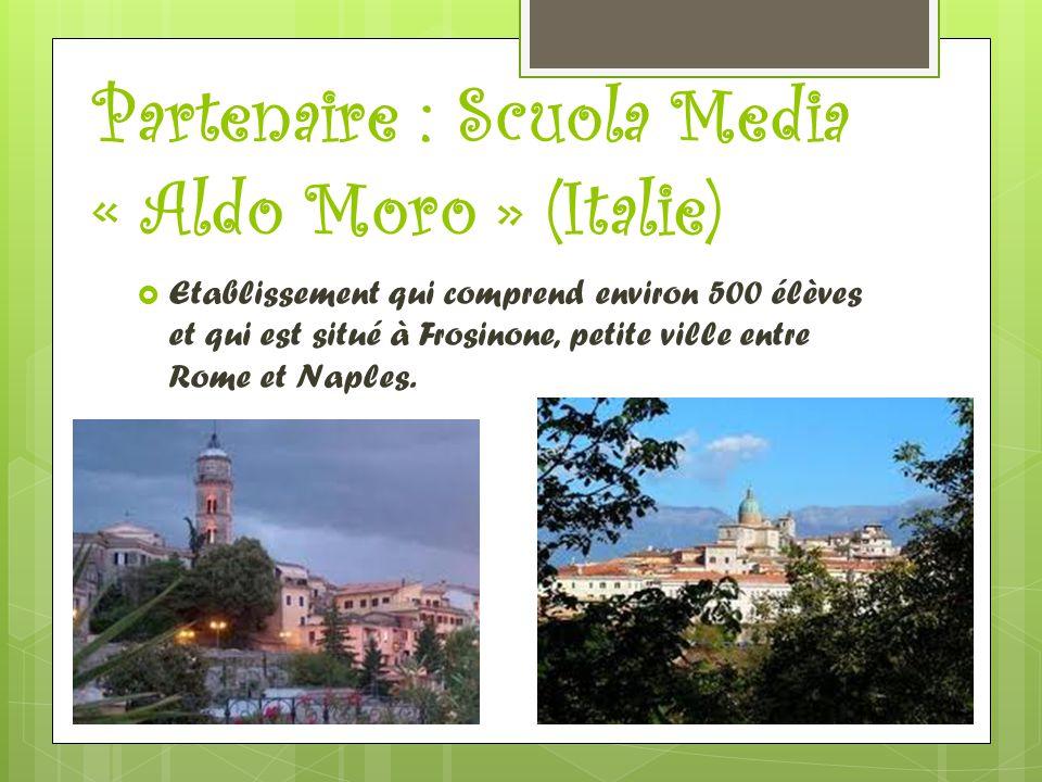 Partenaire : Scuola Media « Aldo Moro » (Italie)
