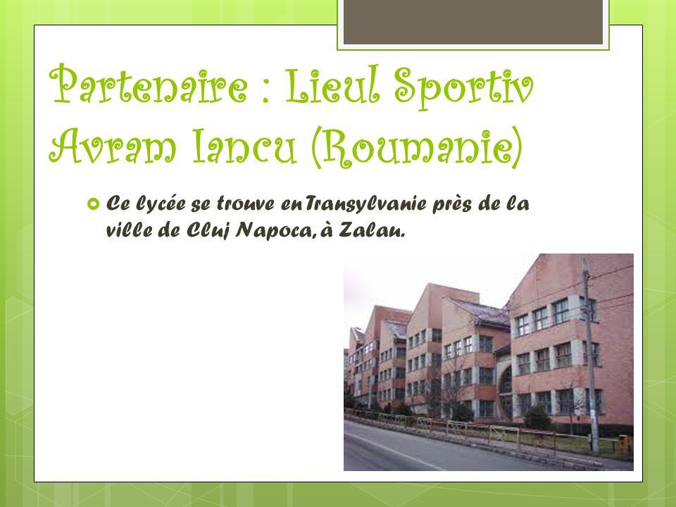Partenaire : Lieul Sportiv Avram Iancu (Roumanie)