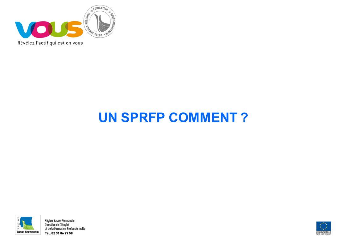 UN SPRFP COMMENT