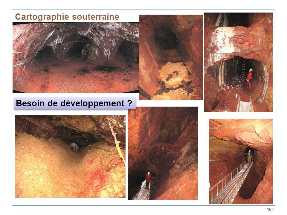 Cartographie souterraine