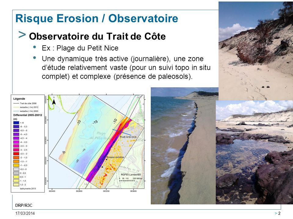 Risque Erosion / Observatoire
