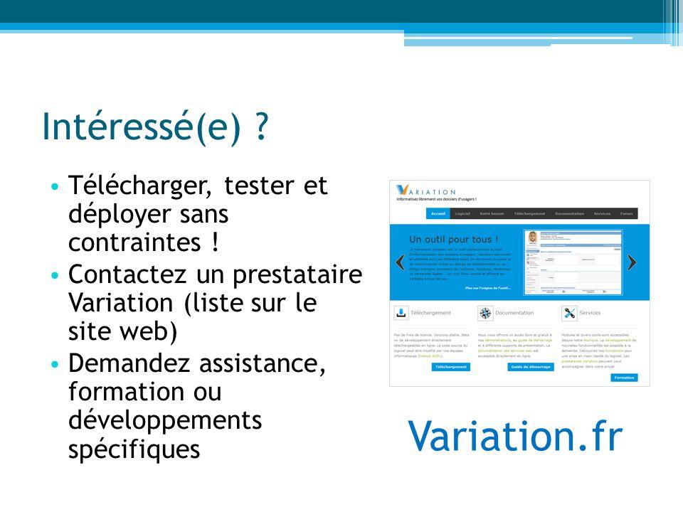 Variation.fr Intéressé(e)
