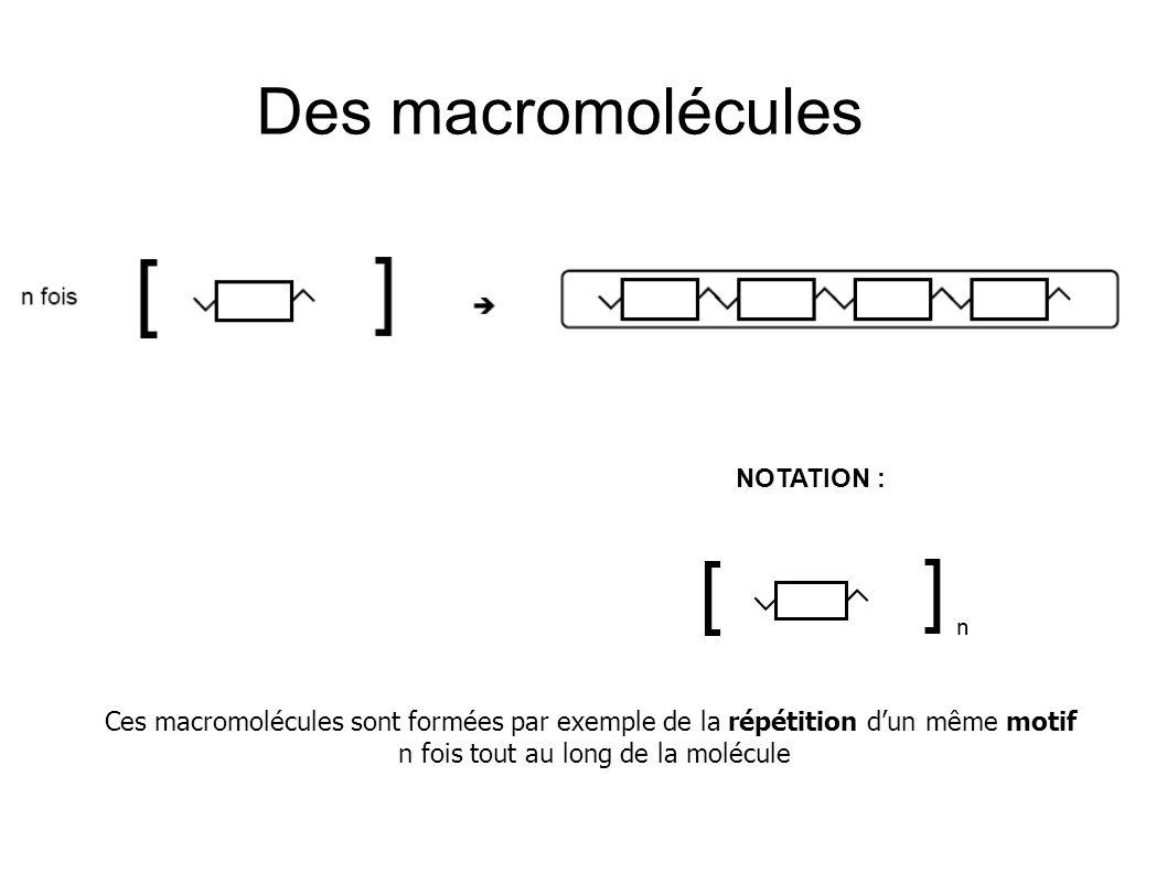 n fois tout au long de la molécule