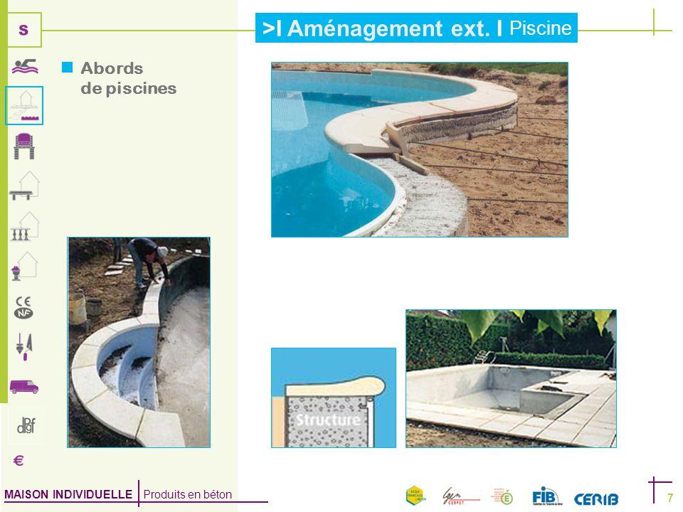 Abords de piscines