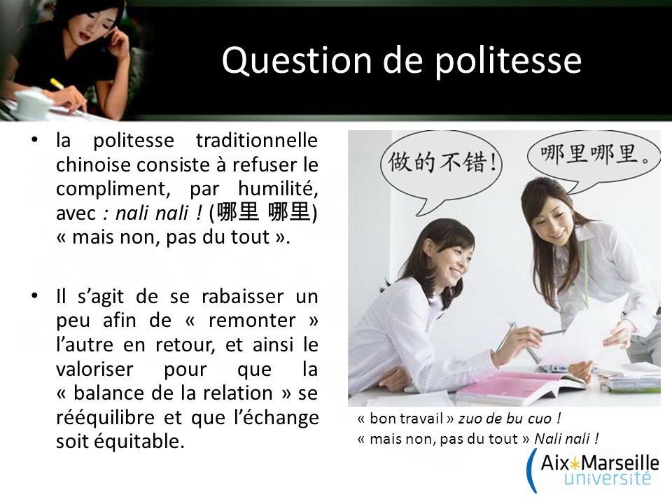 Question de politesse