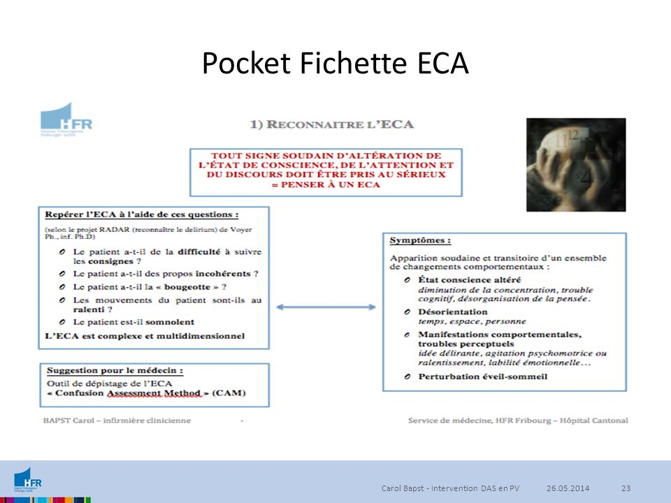 05.04.2017 Pocket Fichette ECA. 2ème version de la pocket fichette car la 1ère contenait trop informations.