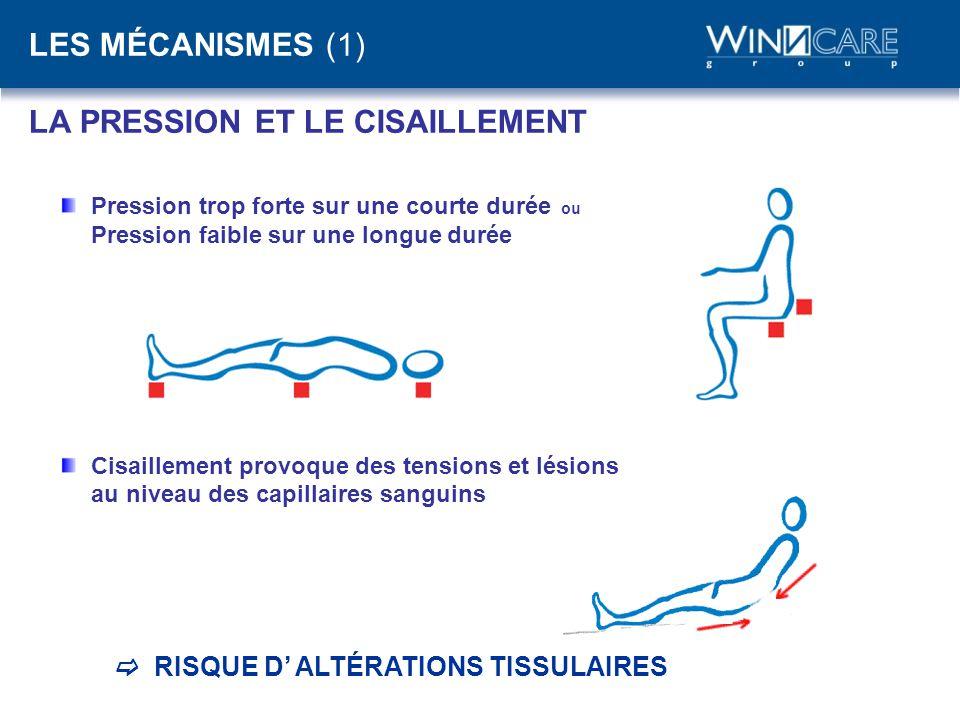 LES MÉCANISMES (1) LA PRESSION ET LE CISAILLEMENT