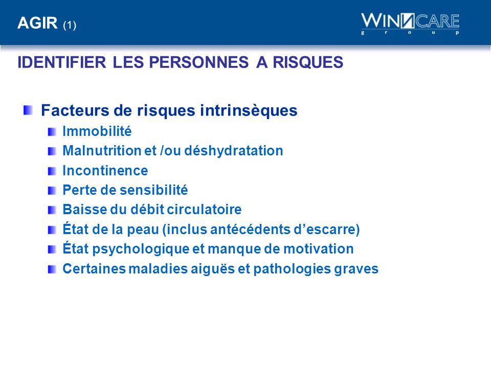 AGIR (1) IDENTIFIER LES PERSONNES A RISQUES