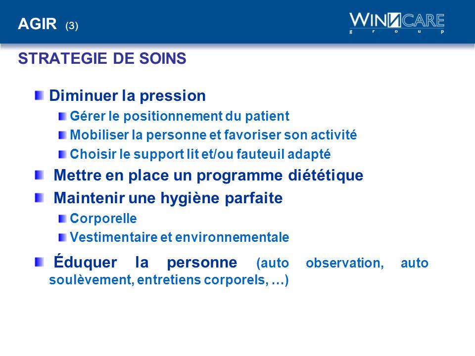 AGIR (3) STRATEGIE DE SOINS