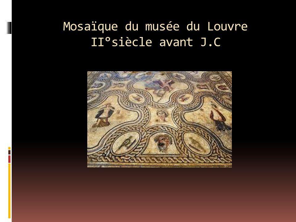 Mosaïque du musée du Louvre II°siècle avant J.C