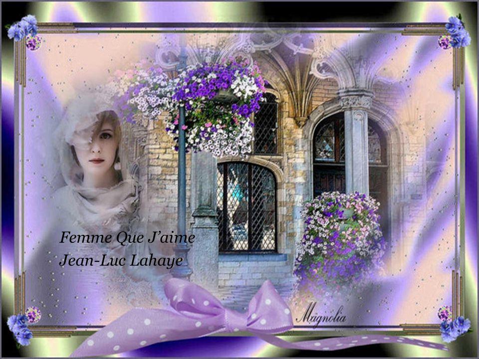 Femme Que J'aime Jean-Luc Lahaye