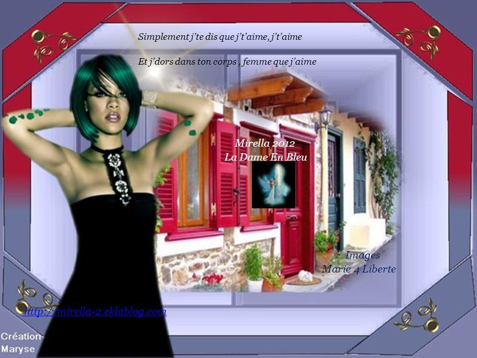 Mirella 2012 La Dame En Bleu Images Marie 4 Liberte